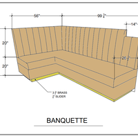 Banquette persp